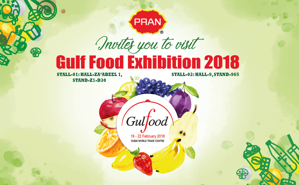 PRAN in GULF FOOD 2018