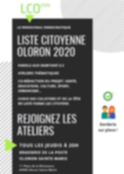 Municipale 2020 Liste Citoyenne Oloron 2