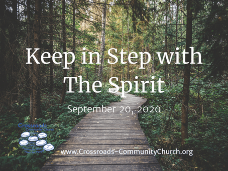 Fruit of the Spirit: Keep in Step with the Spirit