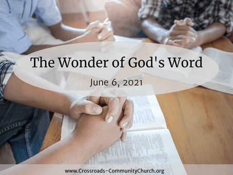 The Wonder of God's Word