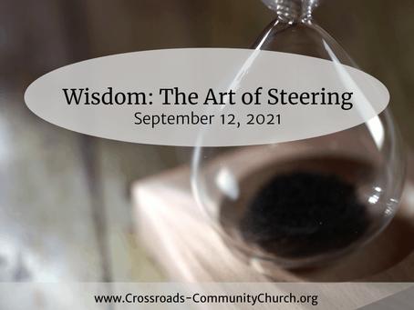 Wisdom: The Art of Steering