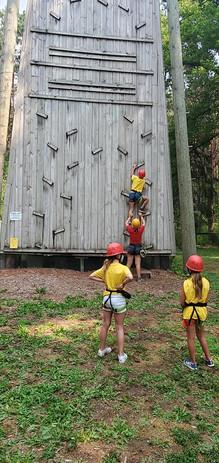 Unit 6 rock climbing