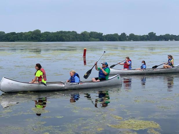 Unit 4 does canoeing