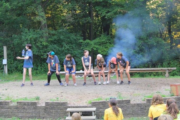 PAT skit at campfire program