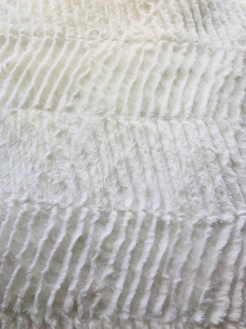 White waves Minky Flece