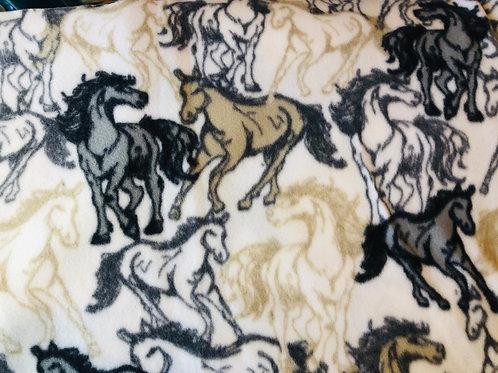 Running Horses Fleece