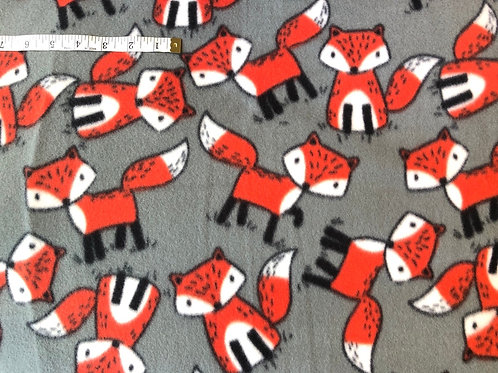 Foxy Foxes Fleece