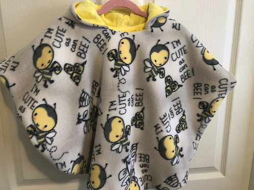 Cute as can Bee Poncho