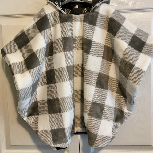 Gray & White Plaid