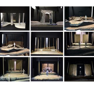 RWCMD Final Year Design - model box progression