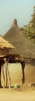 Grenier à céréale en pays Yacouba