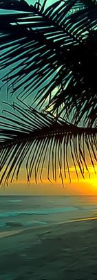 Sunset Assinie plage