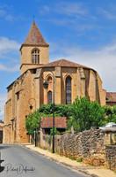Belvès, l'église