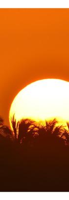 Sunrise lagune Aby