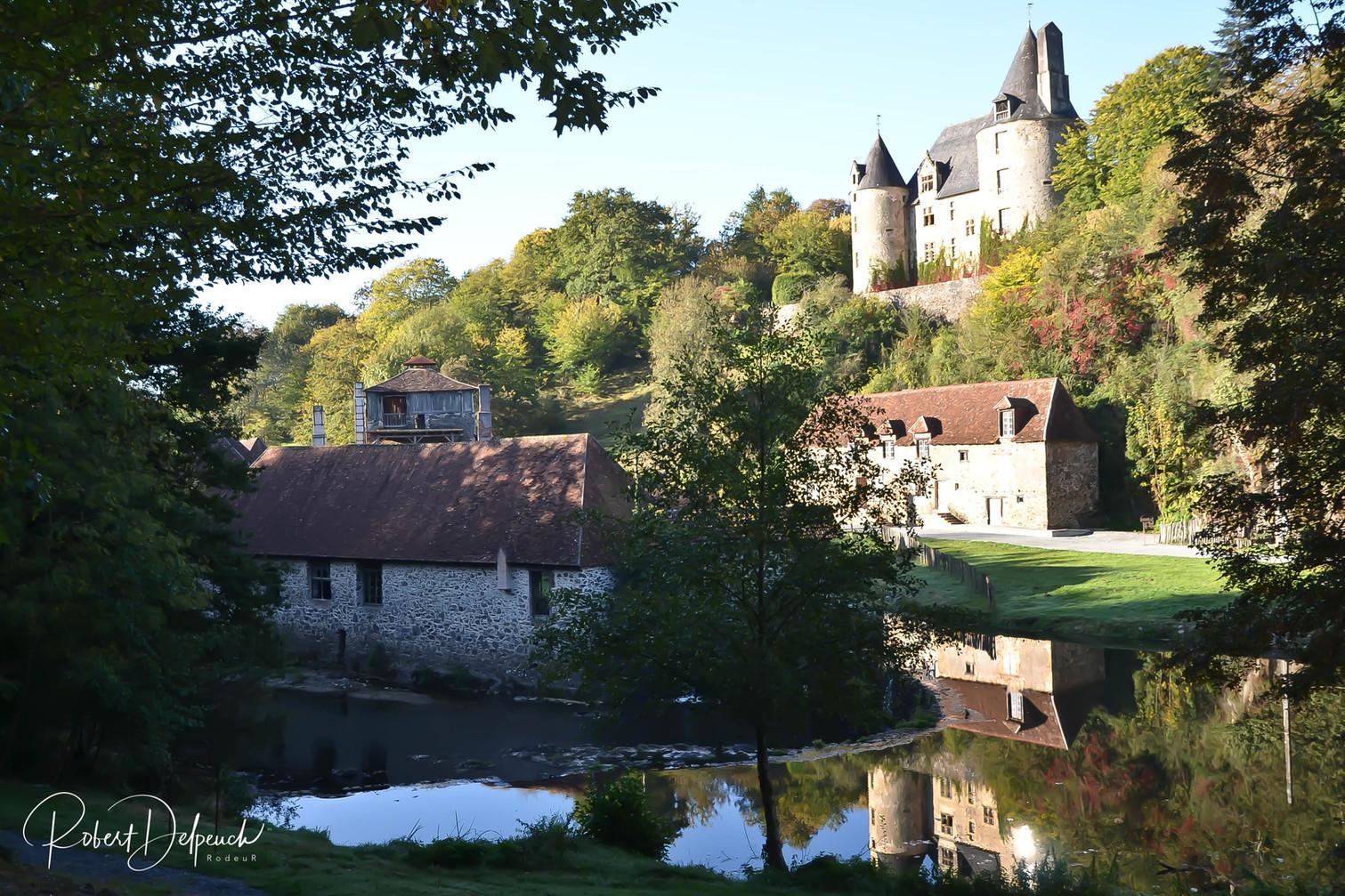 Savignac-Lédrier (Forges et château)