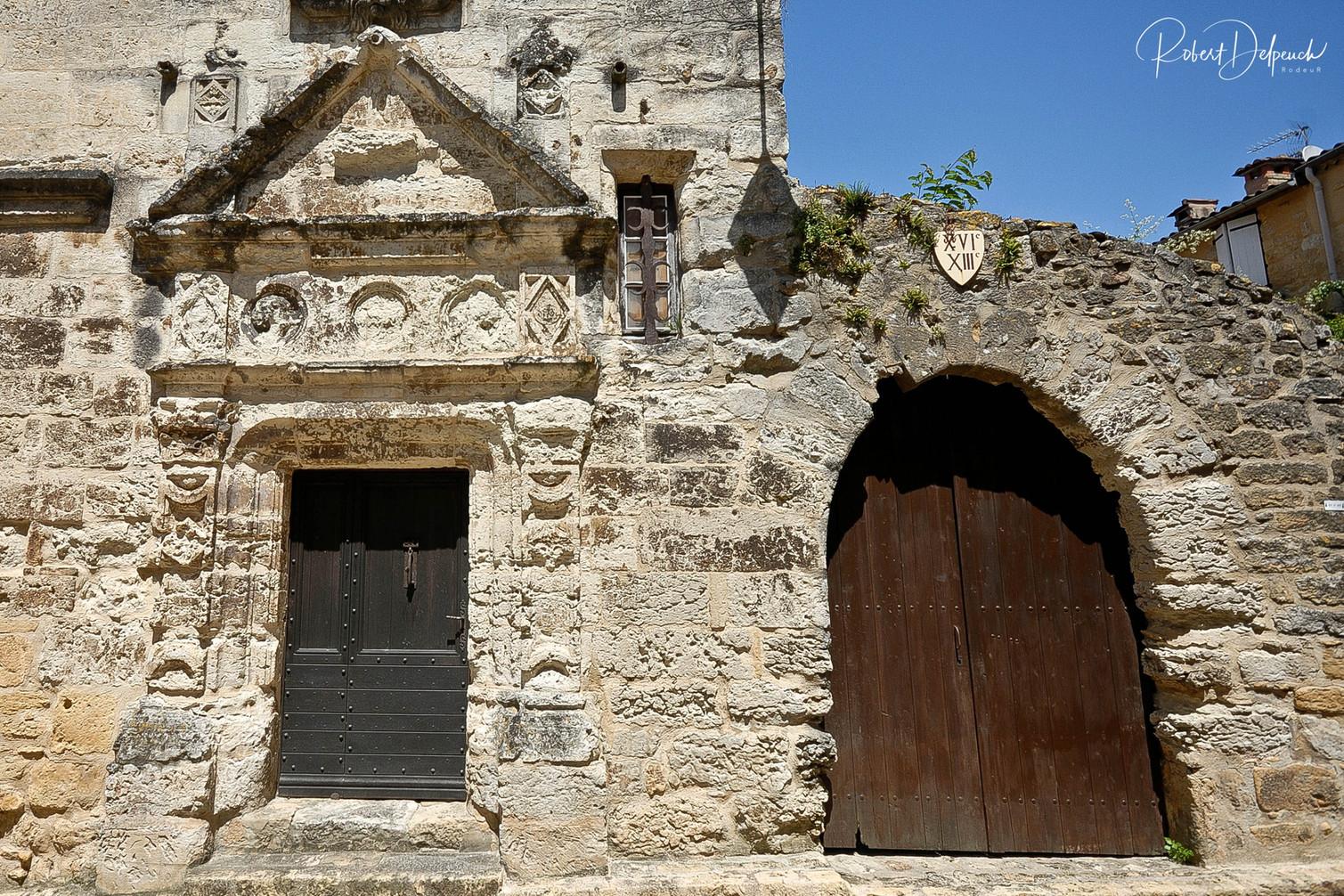 Belvès, les portes