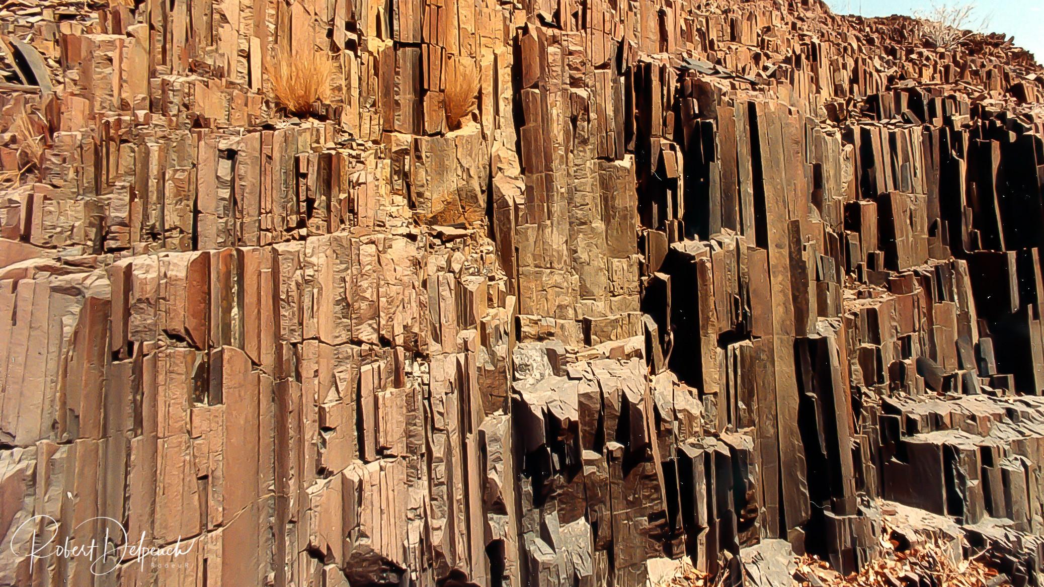 Orgues basaltiques - Damaraland