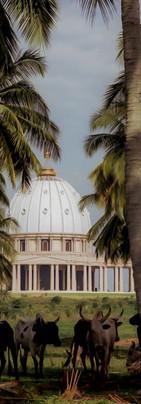 Basilique à Yamoussoukro