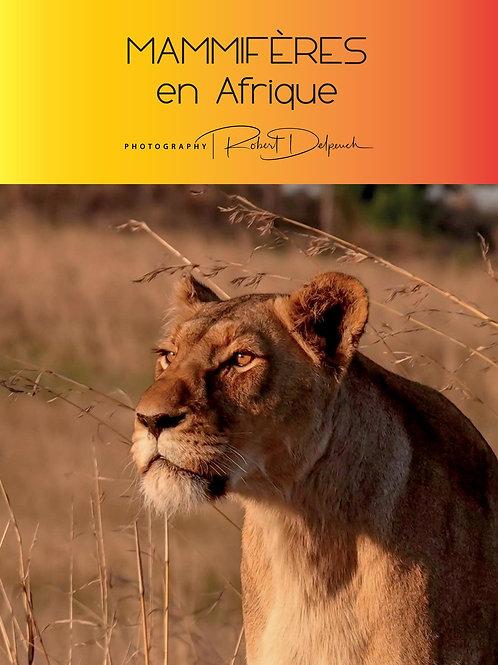 """Livre """"Mammifères en Afrique"""""""