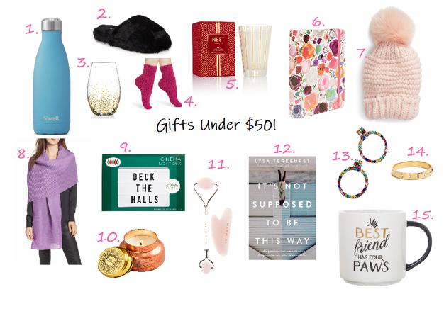 Gifts Under $50!