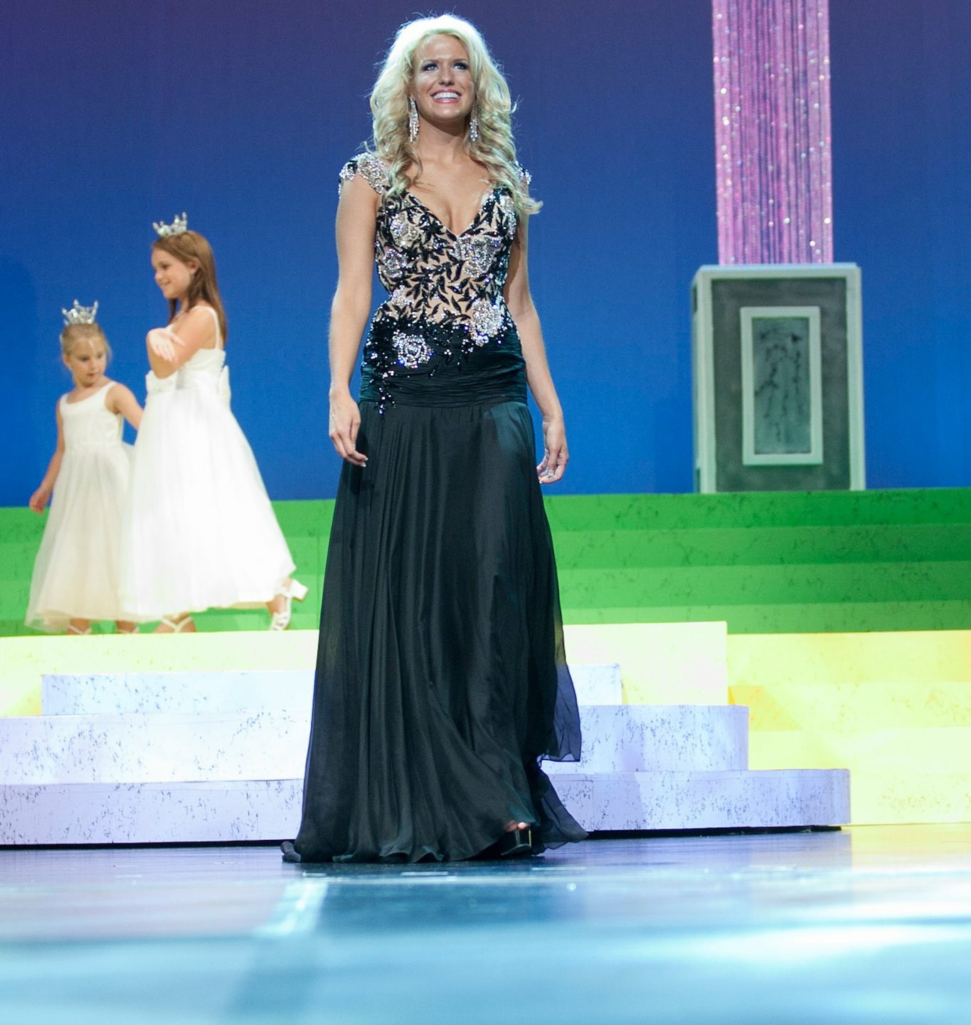 Miss Texas Evening Gown
