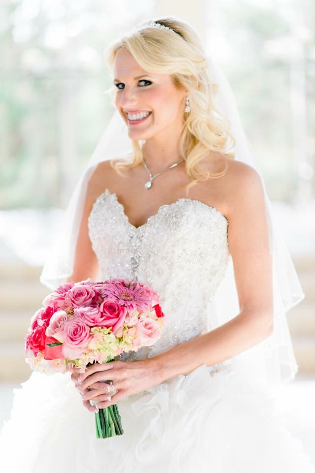 Flowers, Bridal Portrait