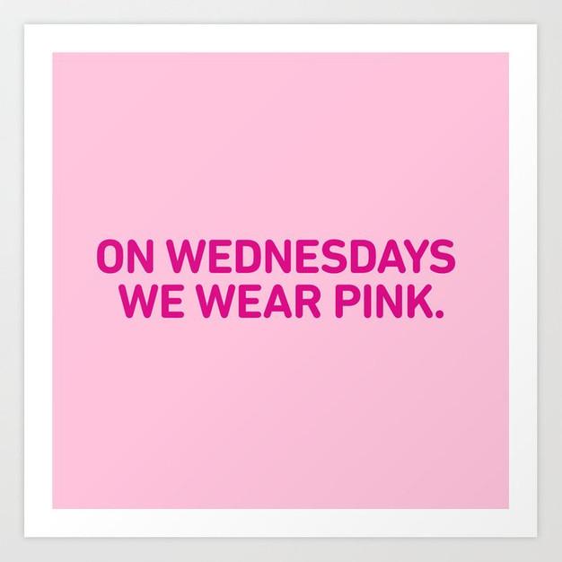 #PinkWednesdays - January Edition!