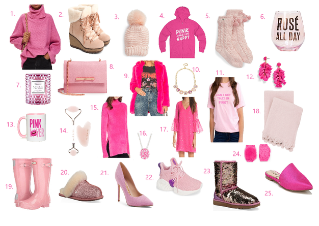 Gift-Guide for the PINK lover!!