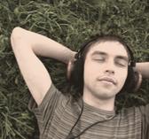 Listening online is better with headphones