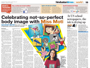 Miss Moti review in the Hindustan Times