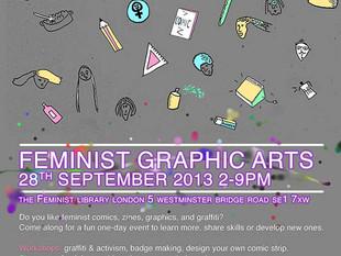 Miss Moti featured in Feminist Graphic Arts