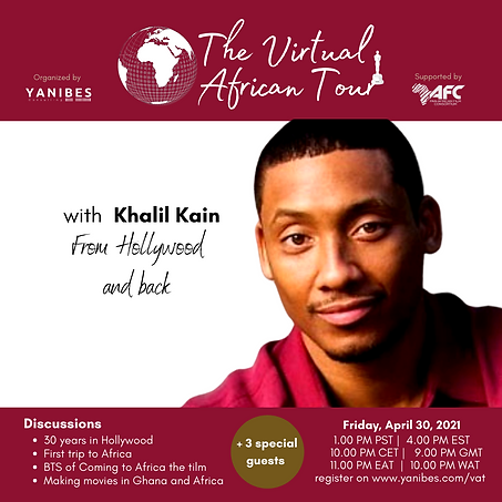 The Virtual African with Khalil Kain - f