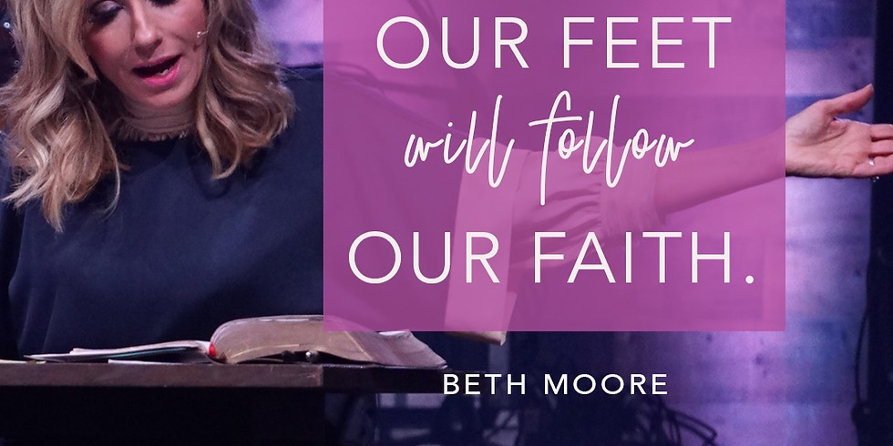 Beth Moore Simulcast -Saturday, Sept. 28th.  8:30am to 4:30pm