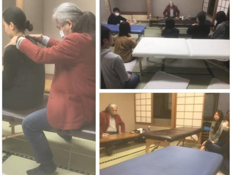 名古屋オステオパシー誇張法クラス2020年2月