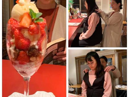 喫茶アミーゴ体験施術6回目