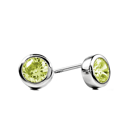 Earrings - Lime Green
