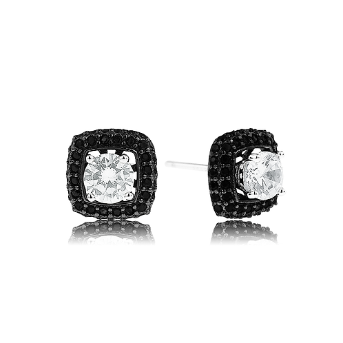 Earrings - Noir Elegance