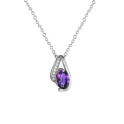 Pendant - Purple Wave