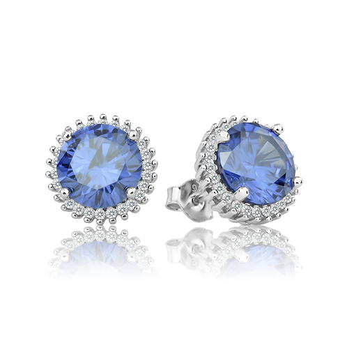 Earrings - Tanzanite Glitz