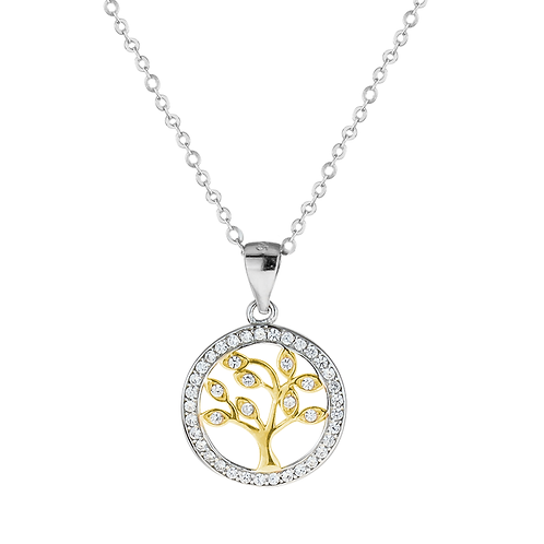 Pendant - Tree of Life - Gold