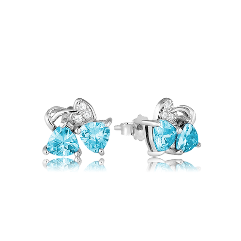 Earrings - Aqua Love