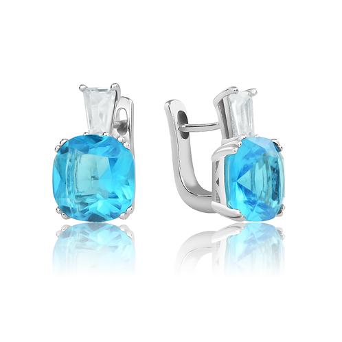 Earrings - Topaz Glitz