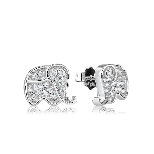 Earrings - Elephants