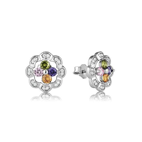 Earrings - Vibrant Stones