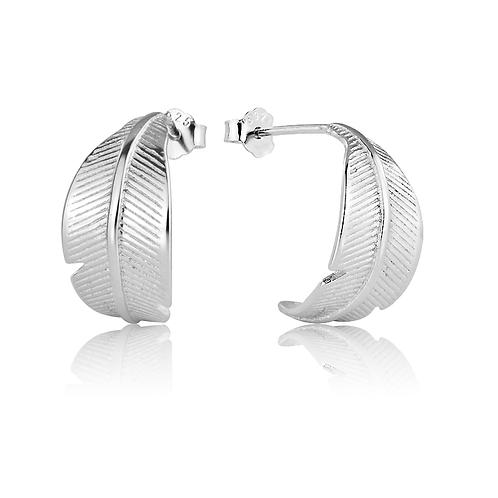 Earrings - Feathers