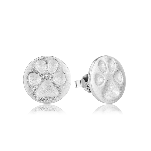 Earrings - Brushed Paws