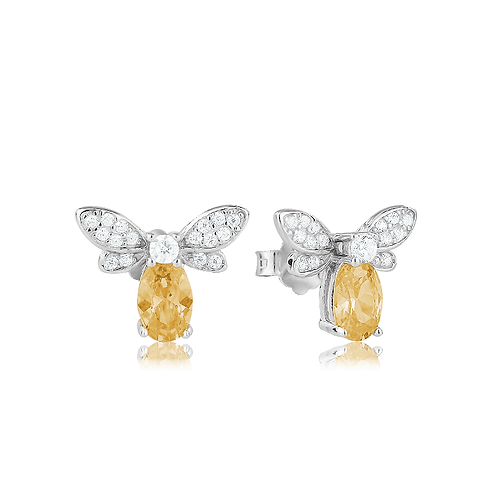 Earrings - Amber Bees