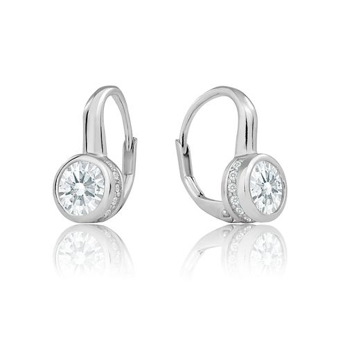 Earrings - Crystal Spring Backs