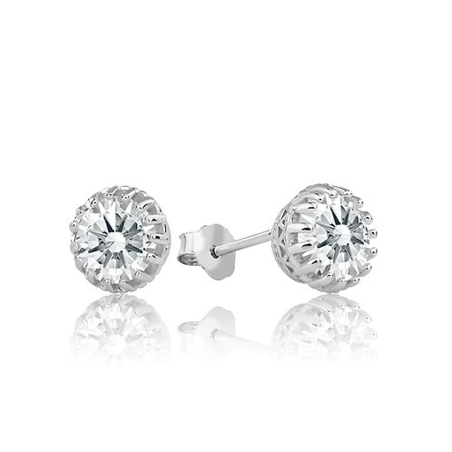 Earrings - Crystal Crowns