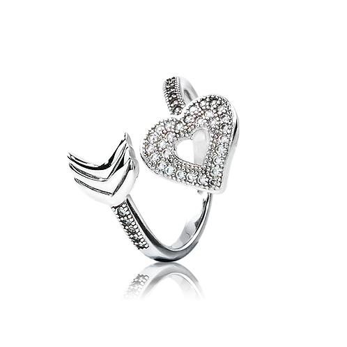 Ring - Crossing Heart